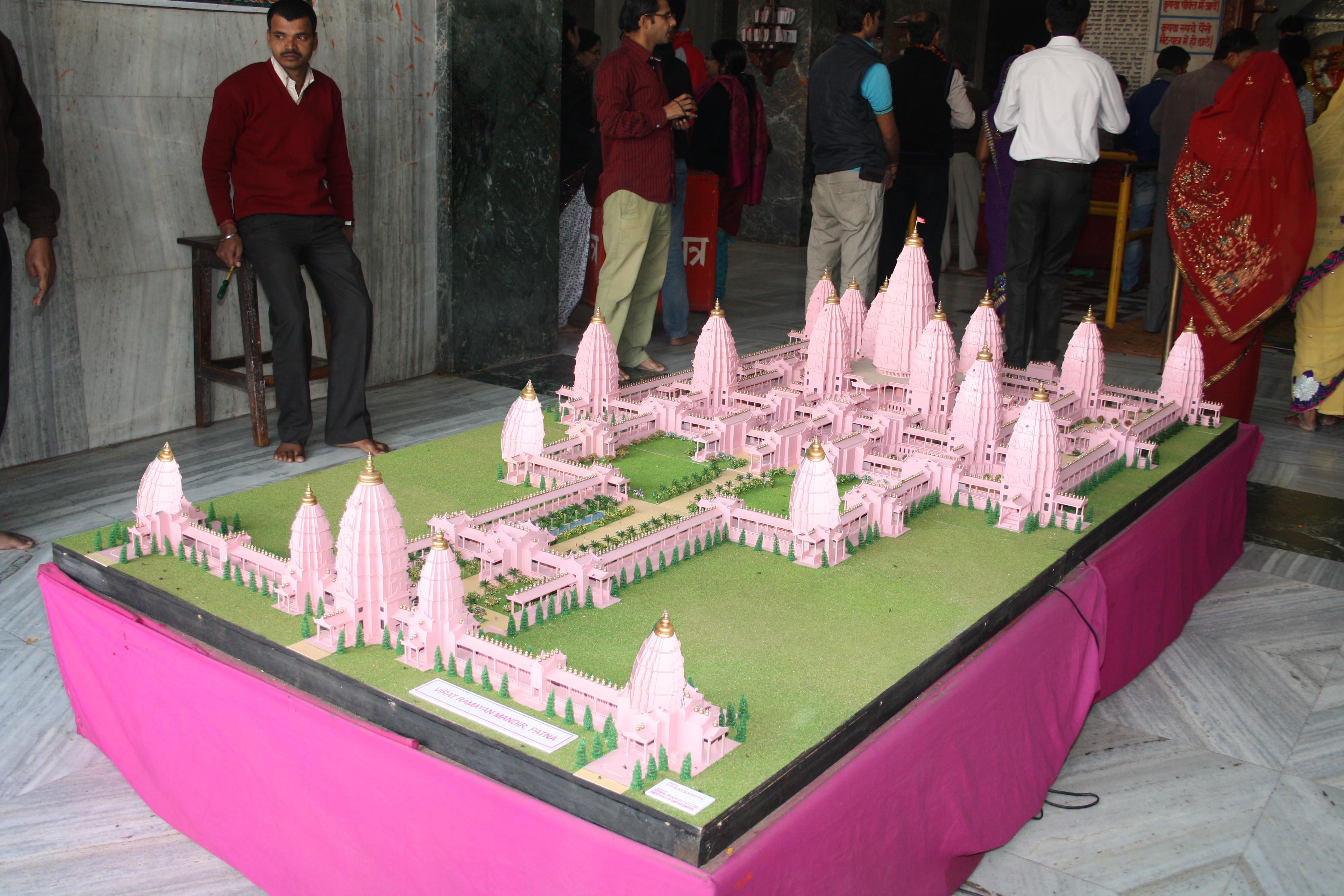 the-model-of-viraat-ramayana-mandir-janakipuri-near-kesariya-eastern-bihar-india