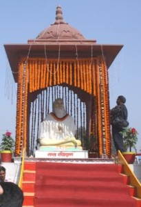 Ravidasji installed at Mahavir Mandir Patna