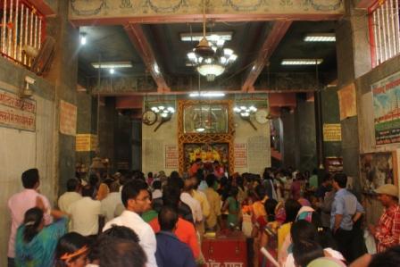 Darshan on Ramavanami, 2015